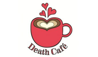 death cafe coffee cup