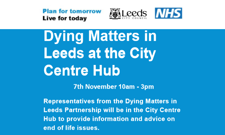 Dying Matters Event-7 November